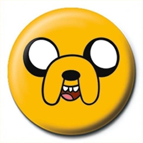 Pyramid International Rozet - Adventure Time - Jake Renkli